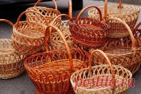 Плетение из ивы - увлекательное хобби | Рукоделие от А до Я | Яндекс Дзен
