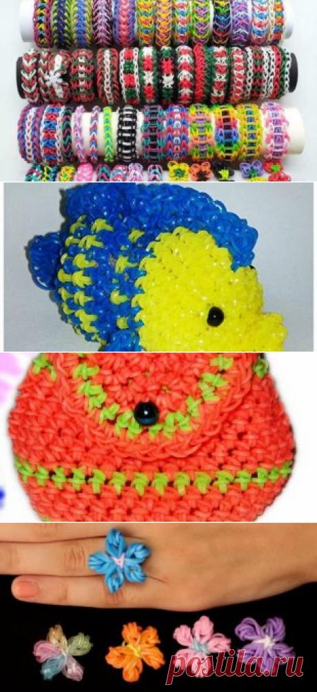 Мастер-классы по плетения на пальцах браслетов из резинок