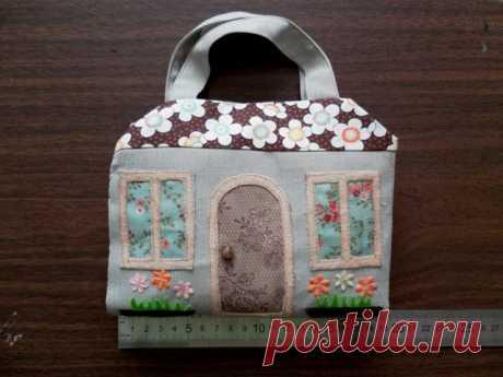 Игровой домик-сумочка