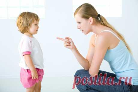 Вы наказываете детей чаще, чем думаете.