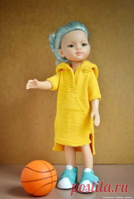 """Платье """"Маленькая разбойница"""" / Одежда и обувь для кукол своими руками / Бэйбики. Куклы фото. Одежда для кукол"""