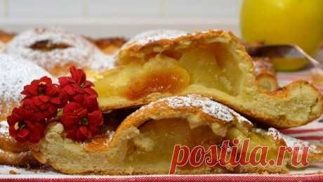 оригинальный рецепт яблочного пирога