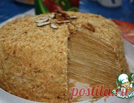 """Торт """"Пизанская башня"""" – кулинарный рецепт"""