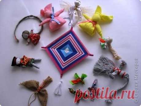 El calendario de la fabricación de las muñecas rusas tradicionales rituales. | el país de los Maestros