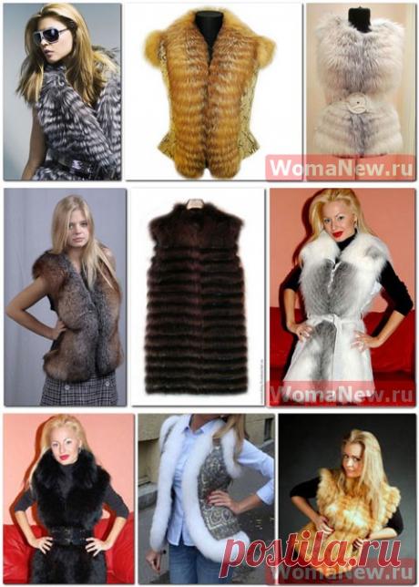 El chaleco de piel por las manos   WomaNew.ru - las lecciones del corte y la costura