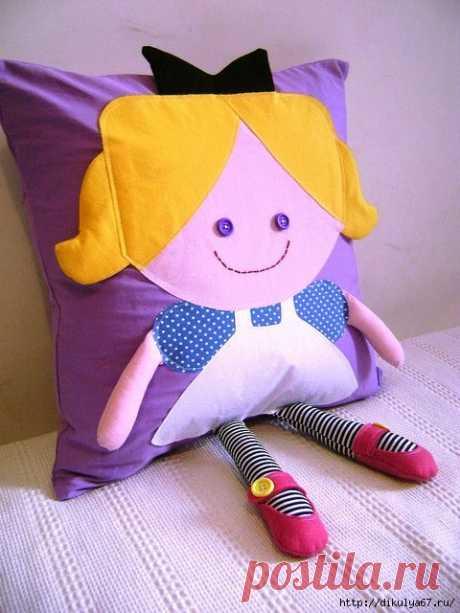 Для наших рукодельниц - Красивые подушки. Идеи для творчества
