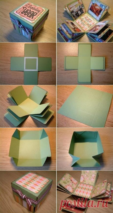 Коробочка-фотоальбом
