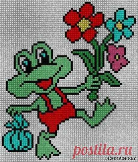 Нашла немного картинок(схемок) для детишек - запись пользователя Ольга Павлова (Ольга) в сообществе Вязание спицами в категории Вязание спицами для детей