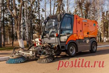 Коммунальная машина КМ-2000 | Купить коммунальную машину в Беларуси, характеристики, цена за новую