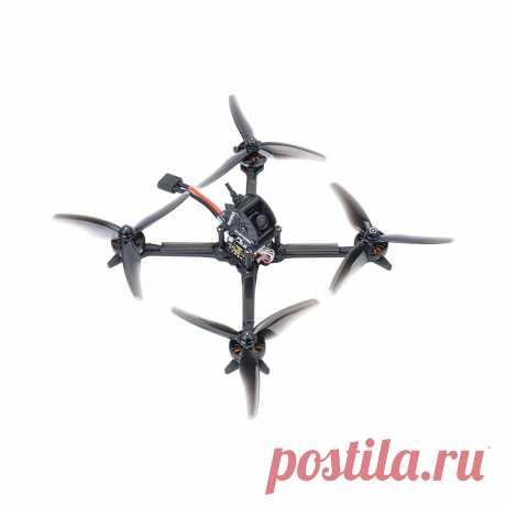 Diatone gtb 195mm 5 inch 4s toothpick fpv racing drone pnp caddx baby ratel cam mamba f405 mini mk3 35a esc 2204 2450kv motor Sale - Banggood.com