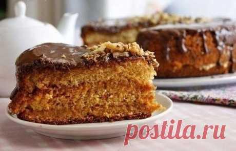 Медовый бисквит — Sloosh – кулинарные рецепты
