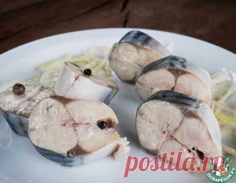 Маринованная скумбрия - быстро и вкусно