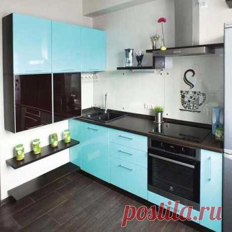 Идея для маленькой кухни:)