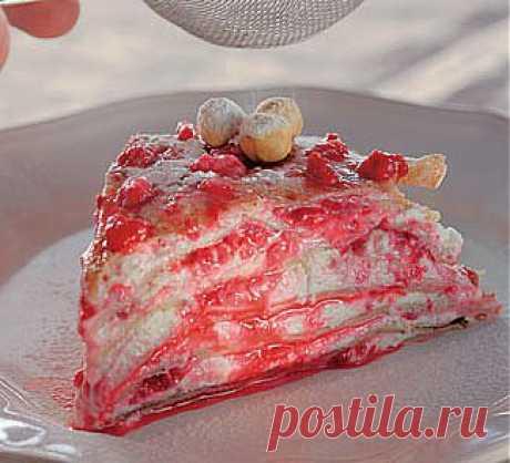 Творожно-ореховый блинный торт, второе блюдо. Пошаговый рецепт с фото на Gastronom.ru