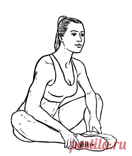 Подвижный тазобедренный сустав - здоровый сустав. Развиваем подвижность тазобедренных суставов упражнениями. | health and beauty | Яндекс Дзен