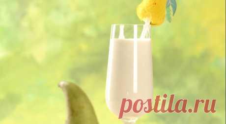 Молочный коктейль с грушами, пошаговый рецепт с фото