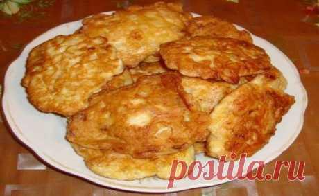 Куриные оладьи Проще и вкуснее блюда не придумать!Всегда получаются вкусными.