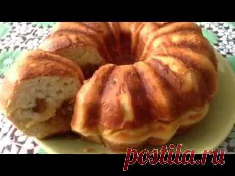 Пирог с капустой в кекснице от GFgril .