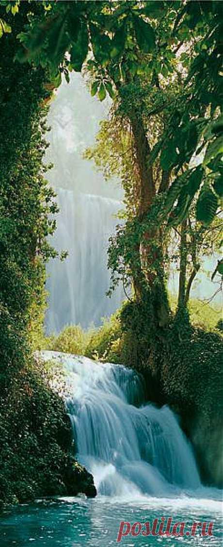 Водопад - это всегда красиво!