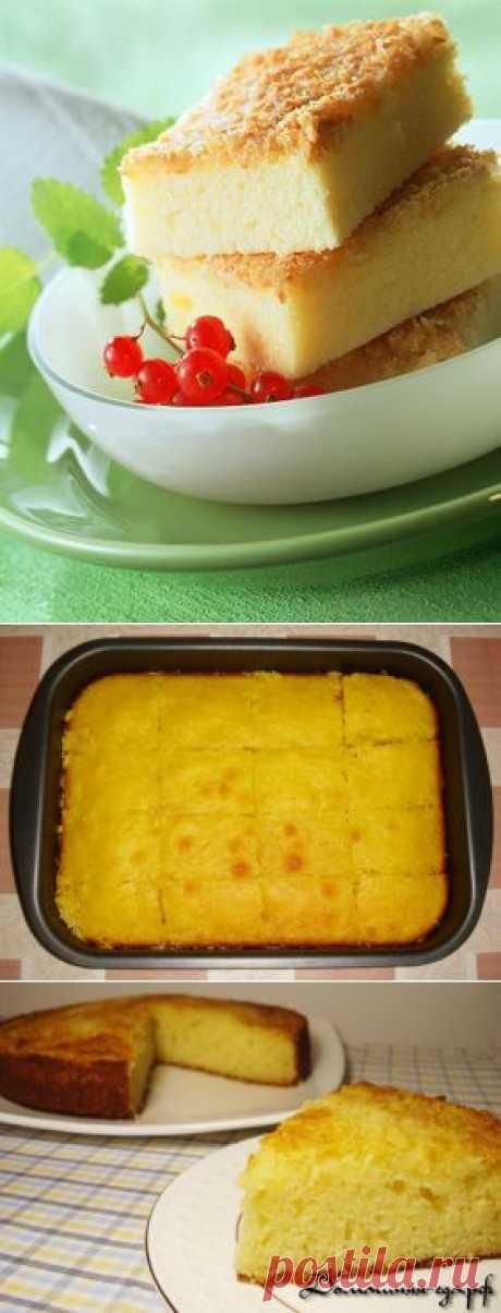 Манник на кефире - 3 вкусных рецепта -