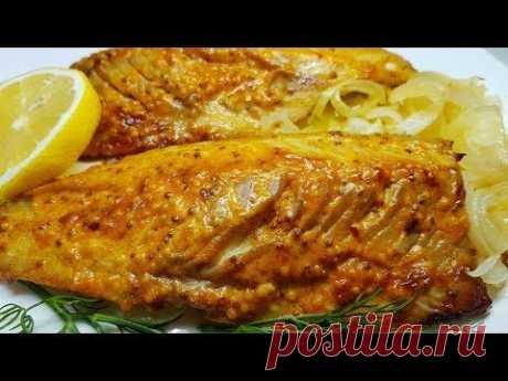 РЕЦЕПТ НОВИНКА! Так можно готовить любую рыбу, но СКУМБРИЯ вкуснее ВСЕХ!нам потребуется:рыба 1 штлук 2 штрастительное масло 1 ст.лпаприка сладкая 1 ч.лмайоне...