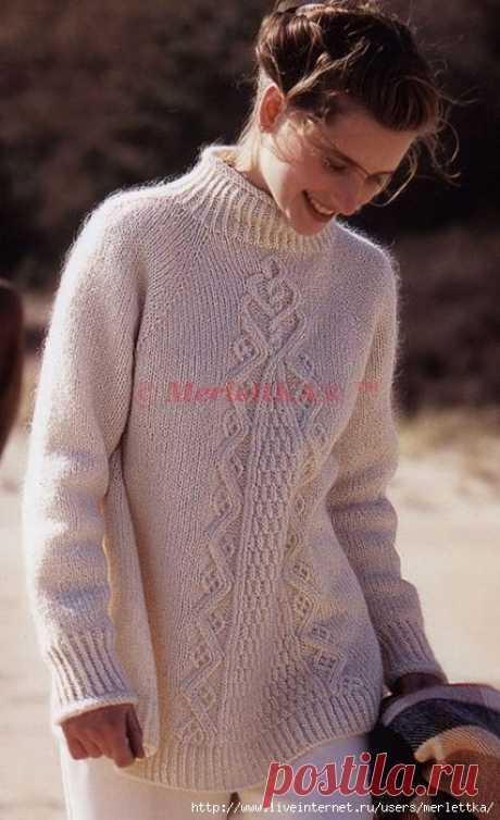 "Пуловер ""Пирамида изобилия"" ... от Норы Гоган"