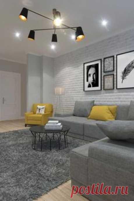 Светлая квартира в скандинавском стиле, 69 м² - МОССЭБО Дизайн интерьера и ремонт #Homeinteriordesign