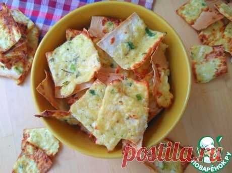Чипсы сырные из тонкого бездрожжевого лаваша – кулинарный рецепт