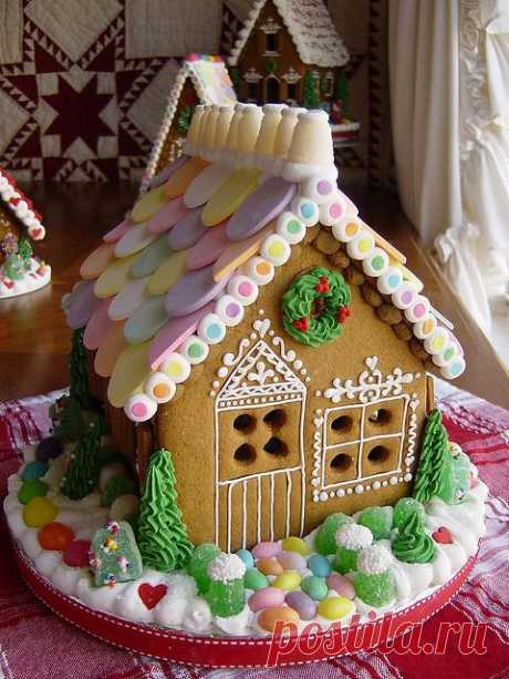 красивые пряничные домики