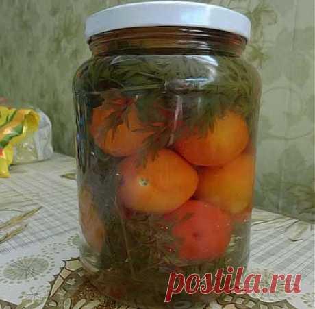Помидоры консервированные с морковной ботвой - Простые рецепты Овкусе.ру