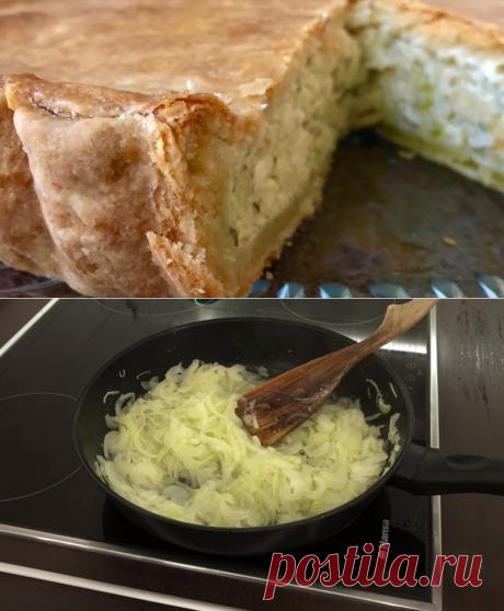 Рецепт лукового пирога — Фактор Вкуса
