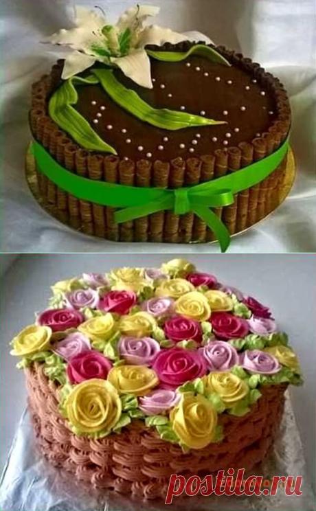 Шоколадные торты: 3 мастер-класса приготовления и украшения | В темпі життя