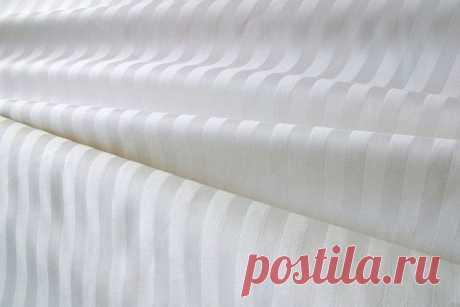 Страйп-сатин: что это за ткань, отзывы, свойства и состав, применение, правила ухода, чем отличается от других материалов и как используют