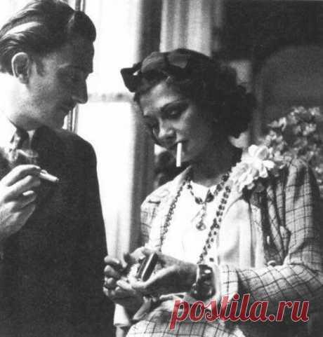 Коко Шанель и Сальвадор Дали (1930)
