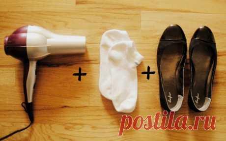 Как растянуть обувь, не испортив ее? — Полезные советы