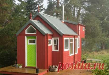 Крошечный дачный домик — Наши дома