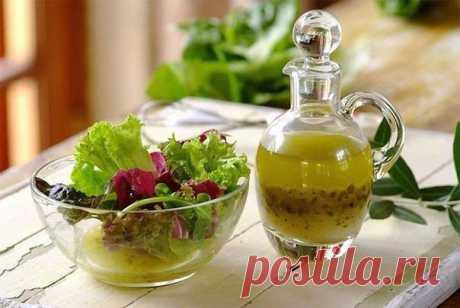 5 Самых вкусных заправок для салатов — Мегаздоров