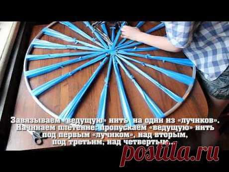 Плетём быстрый коврик без особых навыков -  zaripowa.aniuta— я.ру