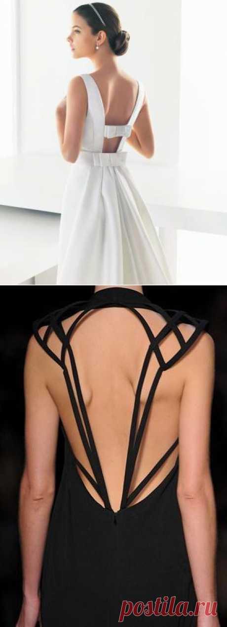 Несколько спинок (подборка) / Декор спины / Модный сайт о стильной переделке одежды и интерьера