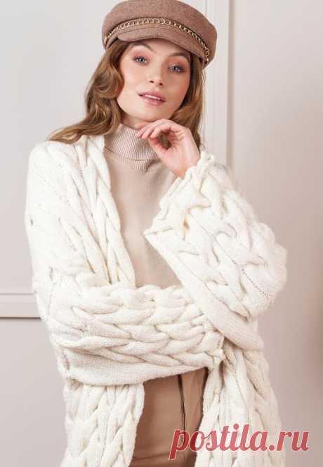 Вязаное пальто Blake