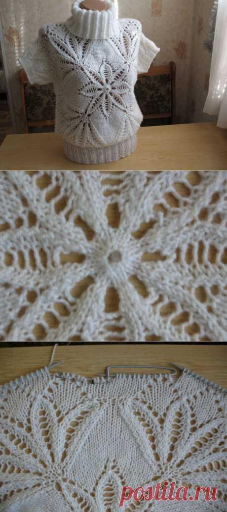 Пуловер Морозный узор / KNITLY.com - блог о рукоделии