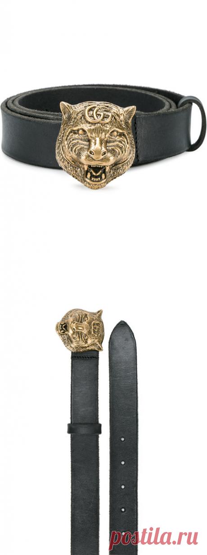 Gucci Ремень с Бляшкой в Форме Тигра - Купить в Интернет Магазине в Москве | Цены, Фото.