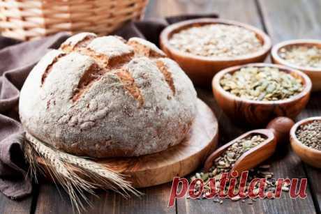 Бездрожжевой хлеб из цельнозерновой муки - 1000