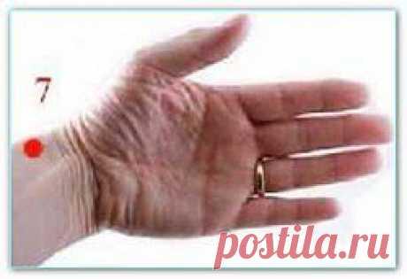 Точки на руках | Домашняя медицина