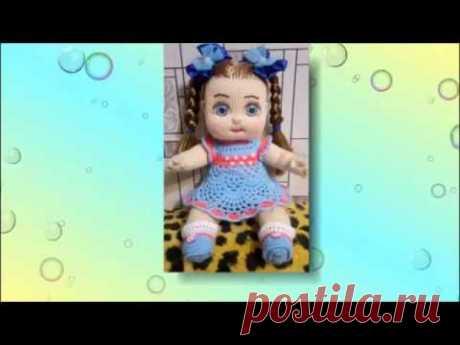 Куклы, вязаные спицами.