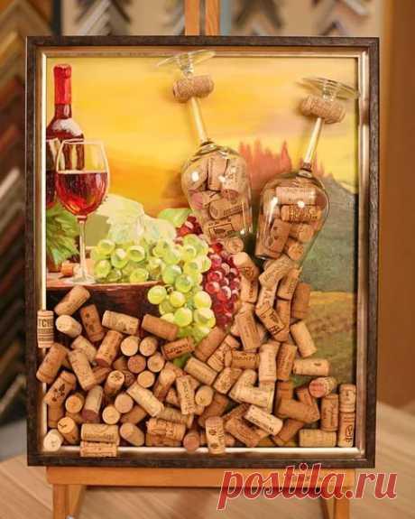 поделки из пробковых пробок от бутылок шампанского: 10 тыс изображений найдено в Яндекс.Картинках