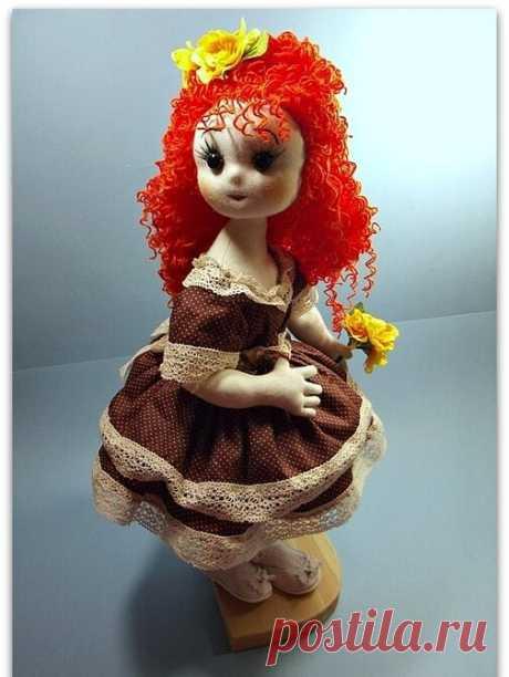 Продолжение - рассказ о моих текстильных, шарнирных куклах, которые Вам так понравились!   Юлия Жданова   Яндекс Дзен