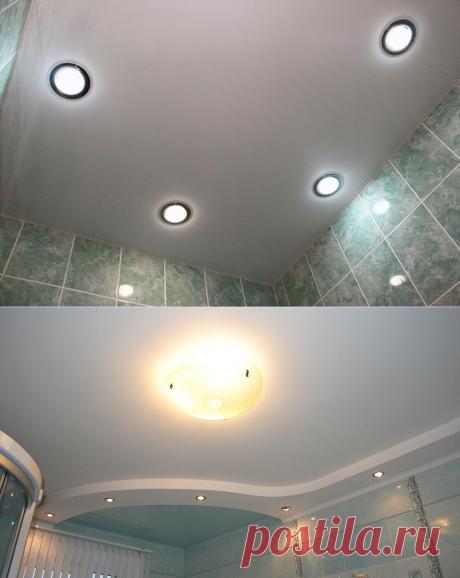 Como por las manos hacer la iluminación correcta en el cuarto de baño