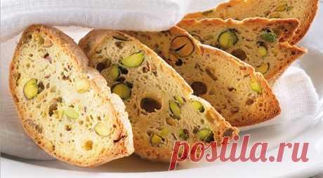 Бискотти, пошаговый рецепт с фото