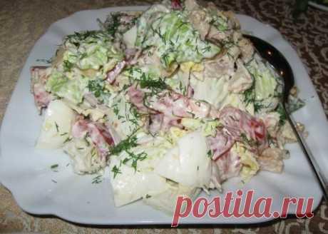 6 салатов с пекинской капустой «Капустники»
